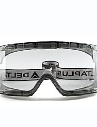 Gafas protectoras contra salpicaduras anti-guerra química choque de metal anti-arañazos anti-niebla