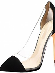 Patent Leather Spring / Summer / Fall Heels Heels Wedding / Office & Career / Party & Evening / Dress / Casual