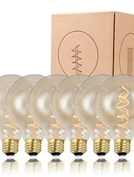 Gmy de bulbe edison g95 spirale filament cru 40w ampoule e26 / e27 décorer ampoule