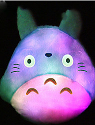 1PC Colorful Color-Changing Romantic Birthday Present Totoro Bolster Night Light