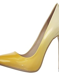 Damen-High Heels-Hochzeit / Büro / Kleid / Lässig / Party & Festivität-Lackleder / Kunstleder / Kunststoff-Stöckelabsatz-Absätze /