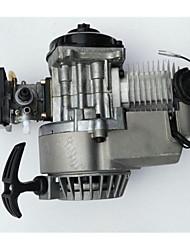 suprimentos automotivos mini-dois tempos motor de 49cc motor de moto a gasolina