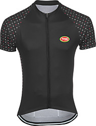 Sports® Cycling Jersey Men's Short SleeveBreathable / Quick Dry / Front Zipper / Back Pocket / Reduces Chafing / Seamless / Soft /