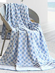 "1 PC Full Cotton Blanket 74"" by 55"" Dot Pattern"