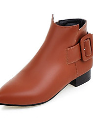 Women's Boots Spring / Fall / Winter Fashion Boots Leatherette Wedding / Outdoor / Party & Evening / Dress /