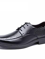 Aokang Men Shoes Fashion Black brown Sandals Men leather Shoes Beach Summer sandals hot sale