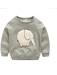 Elephant Baby Sweater Children'S Clothing Children Long-Sleeved Shirt Autumn
