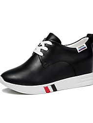 Women's Sneakers within the higher Winter Round Toe Leather / Party & Evening / Casual Wedge HeelSplit Joint /