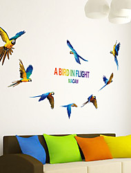 AOFU Animals Wall Stickers Plane Wall Stickers Decorative Wall Stickers,Home Decoration Wall Decal XL6046