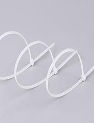autobloccanti fascette in nylon 4 * 350 millimetri / 3,6 * 350 gb cavo ambientale fascetta bianca