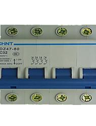 chint dz47-60 4p disjuntor miniatura