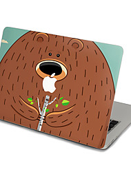 MacBook Front Decal Sticker Bear  For MacBook Pro 13 15 17, MacBook Air 11 13, MacBook Retina 13 15 12