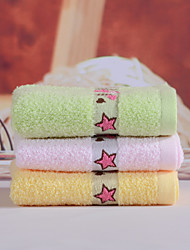 Yukang 1pc Wash Towel Pack, Pure-Color Design 100% Cotton Wash Towel