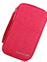 Fashion Travel Passport Package Multifunctional Wallet Containing Package Documents Bill Package