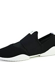 Men's Sneakers Comfort Fabric Outdoor / Athletic / Casual Flat Heel Slip-on Blue / Gray Sneaker