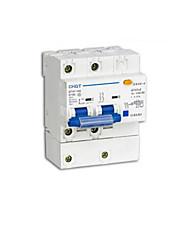 alta interruptor de ruptura de proteção contra vazamento (modelo: DZ47LE-100 2p, disjuntor corrente nominal: 100a)