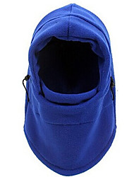 Ski Balaclava Hat Ski Hat Thermal / Warm / Windproof Snowboard Polyester / Fleece White / Black / BlueSkiing / Camping / Hiking /