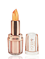 The Gold Foil Jelly Temperature Lipstick(3 Selectable Colors)