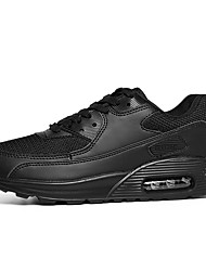 Unisex-Sneakers-Tempo libero Casual Sportivo-Comoda-Piatto-Tulle Microfibra-Nero Giallo Rosso Bianco