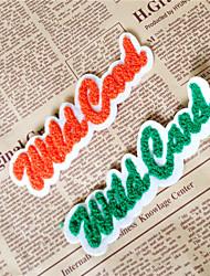 Embroidery Orange / Clover Cotton 1 pc