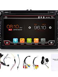 4 núcleos 8 '' jugador del coche DVD GPS de navegación mediante la radio BT en el tablero funciones incorporadas / wifi 3g swcfull para vw