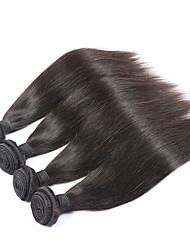 Brazilian Virgin Hair Straight 4Bundles Soft Human Hair Weaves 7A Brazilian Straight Hair Weave Beauty