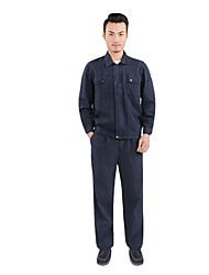 tuta vestito indossare una tuta di lavoro in fabbrica di abbigliamento di spessore (vendita blu scuro tuta)