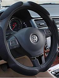 Sandwich Four Seasons General Black Rubber Steering Wheel Cover, Air Permeability, Non Slip Steering Wheel Cover