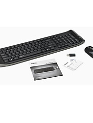 Wireless Keyboard & Mouse  3 Pieces a Set Random Color