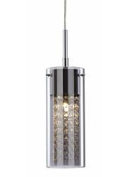 Modern Creative K9 Crystal Pendant Lights Transparent Glass Coffe Bar Dining Room Hallway Kids Room Light Fixture