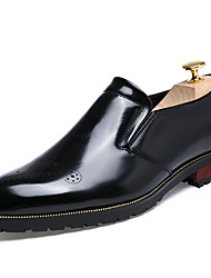 Men's Fashion Oxfords Casual/Office & Career/Party & Evening Patent Leather Walking Slip on Shoes
