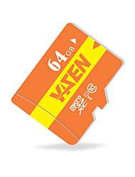 yisen 64GB UHS-I u1 / класс 10 MicroSD / MicroSDHC / microsdxc / tfmax чтения speed80 (Мб / с)