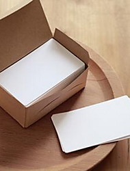 Retro Boxed Kraft Blank DIY Graffiti Thick 100 Word Cards