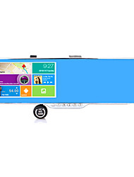 Intelligent voice recorder HD rearview mirror