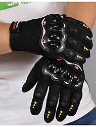 Full Finger Cycling Gloves Nontoxic Odorless Water Resistant Breathable Slip Drop Resistance