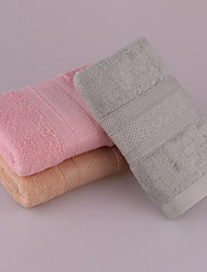 Plain Coloured Bamboo Fiber Towels Small Squares