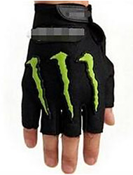 Half-Finger Riding Gloves Slip Resistant Breathable Waterproof