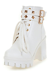Women's Boots Spring / Fall / Winter Fashion Boots Leatherette Wedding / Office & Career / Party & Evening / Dress /