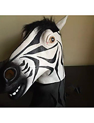 Halloween Masks Zebra Holiday Supplies Halloween / Masquerade 1Pcs