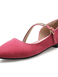 Women's Shoes Spring / Summer / Fall / Winter Comfort / Pointed Toe Flats Office & Career / Dress / Casual Low Heel