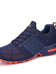 Femme-Extérieure / Décontracté / Sport-Noir / Bleu / Noir et rouge-Talon Plat-Ballerines-Chaussures d'Athlétisme-Tulle