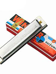 W - 16 original 16 hole tremolo harmonica C quality goods