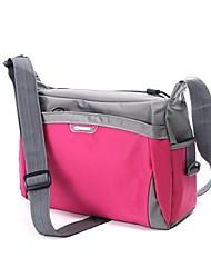 Unisex Travel Bag Nylon All Seasons Casual Zipper Dark Blue Fuchsia Light Blue Dark Gray Light Green