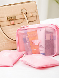 Korean Cosmetic Bag Three Piece Hand Portable Bag Wash Bag Travel Bag
