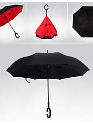 Vermelho / Verde / Azul / Amarelo Guarda-Chuva Dobrável Ensolarado e chuvoso têxtil Viagem / Lady / Masculino