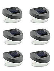 6PCS 2LED Solar Lamp Room Split Type Led Solar Light Outdoor Corridor Lights Garden Lights  Luminaria Solar Panel