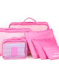 receber bagagem saco para roupa interior de viagens para organizar a receber bolsa para receber bolsa coberta seis vezes