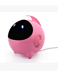 Plastic Neutral Personality Space Man USB Car Speaker