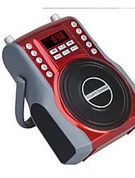 double microphone avec bluetooth stéréo de haute puissance carré extérieur danse audio