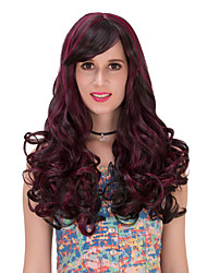 Red black long hair wig.WIG LOLITA, Halloween Wig, color wig, fashion wig, natural wig, COSPLAY wig.